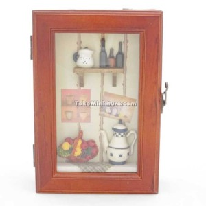 Gantungan kunci / key box kitchen with kettle