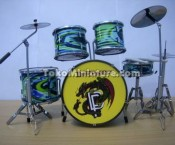 Miniatur Drum Deep Purple