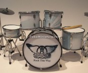 Miniature Drum Aerosmith