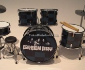 Miniatur Drum Green Day