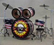 Miniatur Drum Gun And Roses