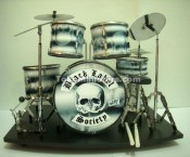Black Label Society Miniatur Drum